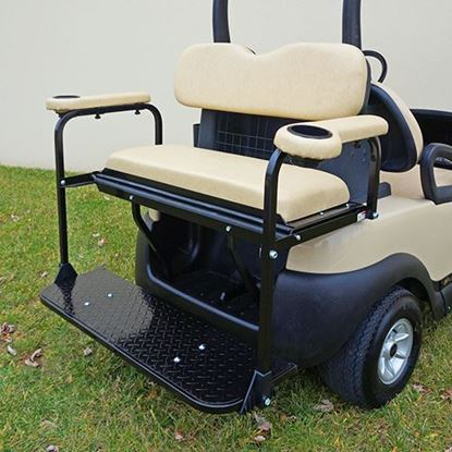 Picture of Rhino 700 Series Super Saver Club Car Precedent Beige Cushions Steel Rear Flip Seat Kit