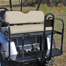 Picture of E-Z-Go RXV Stone Beige Cushions Steel Rear Flip Seat Kit