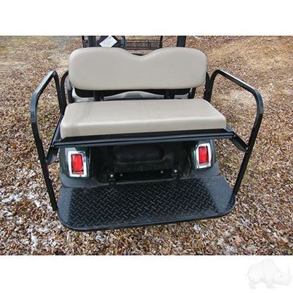 Picture of Yamaha G29/Drive Stone Cushions Aluminum Rear Flip Seat Kit