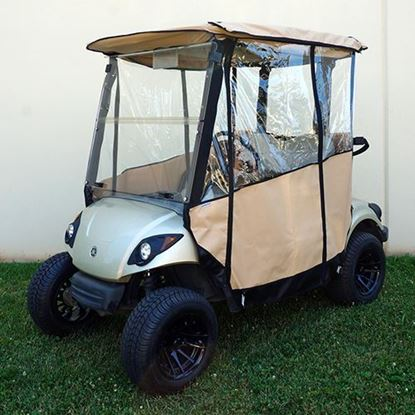 Picture of Beige Odyssey Over-the-top 3-Sided Enclosure for Yamaha G29/Drive