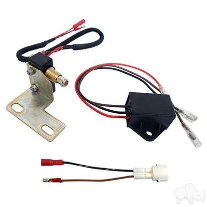 Picture of Plug & Play Brake Switch with Bracket fits E-Z-Go RXV Gas