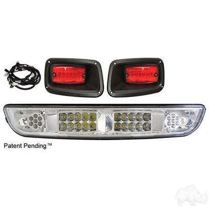 Picture of E-Z-Go Medalist/TXT 1994.5-2013 LED Light Bar Kit with Plug & Play Harness
