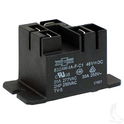 Picture of Relay, 48V, Club Car PowerDrive Chargers Electric 95+