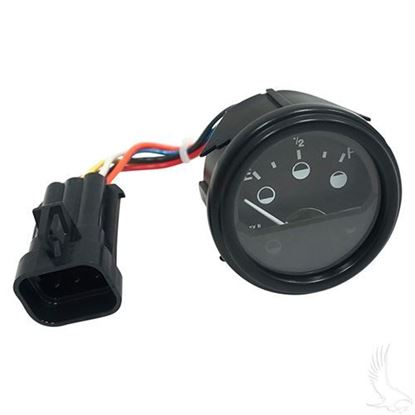 Picture of 48V Round Analog Charge Meter fits E-Z-Go RXV