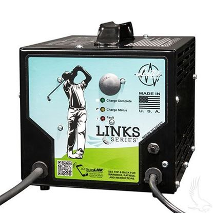 Picture of Battery Charger, Lester Link Series, Club Car PowerDrive Plug  48V/13A (use without OBC)
