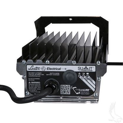 Picture of Battery Charger, Lester Summit Series High Frequency 13A 48V, with Crowsfoot Plug