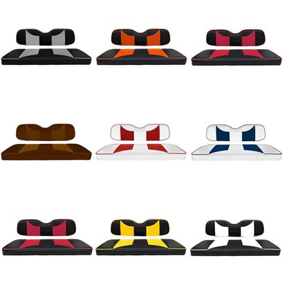 Picture of Rhino Rally Rear Seat Cushion Sets - Choose Your Seat Colors