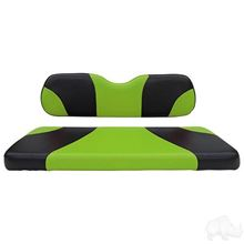 Picture of E-Z-Go RXV Sport Black/Green Cushions Steel Rear Flip Seat Kit