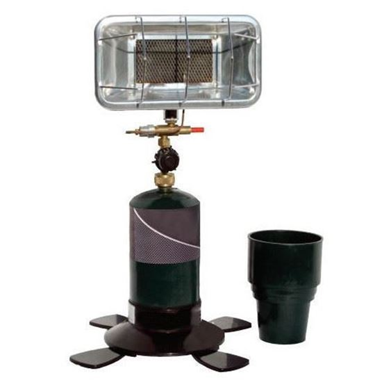 Picture of Universal Portable Propane Heater with Cup Holder Adapter, Match-Light