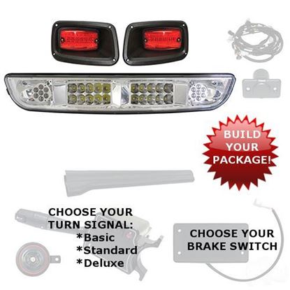 Picture of E-Z-Go Medalist/TXT 1994.5-2013 LED Light Bar Kits - Choose Your Street Legal Kit