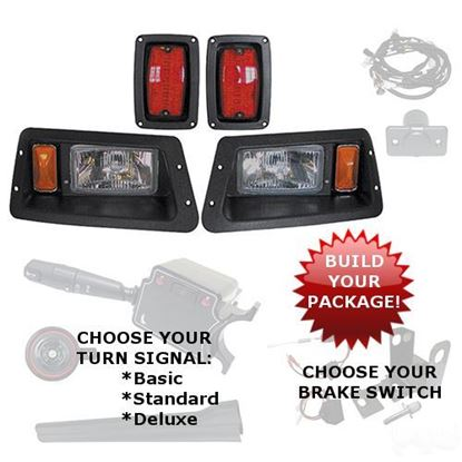 Picture of Yamaha G14/G16/G19/G22-GMAX Halogen Adjustable Light Kits - Choose Your Street Legal Kit
