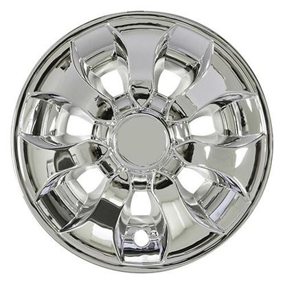 "Picture of 8"" Driver Chrome Wheel Cover"