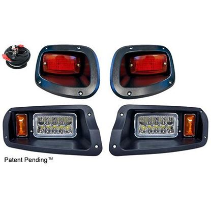 Picture of E-Z-Go TXT 2014-Up LED Adjustable Light Kit with Plug & Play Wire Harness