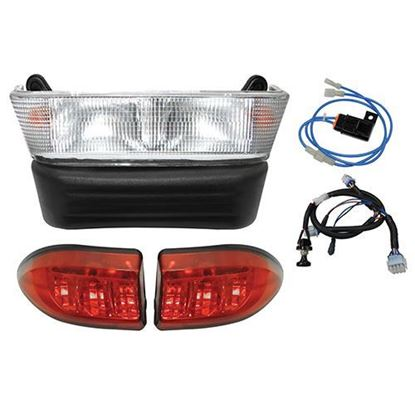 Picture of Club Car Precedent Electric 04-08.5 Halogen Light Bar Kit with Plug & Play Harness
