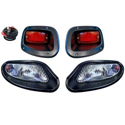 Picture of E-Z-Go TXT 2014-Up Halogen Factory-Style Light Kit