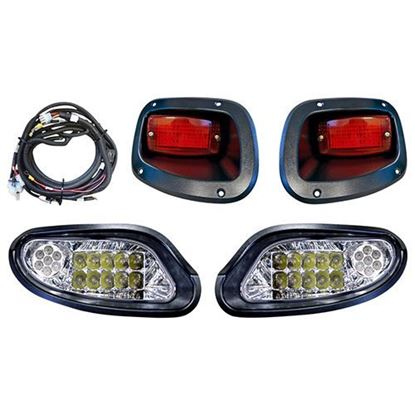 Picture of E-Z-Go TXT 2014-Up LED Factory-Style Light Kit