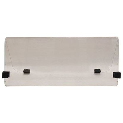 Picture of Club Car DS Old Style 1984-2000.5 Impact Modified Folding Windshield - Clear
