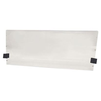 """Picture of Club Car DS New Style 2000.5-Up 1/4"""" Impact-Modified Acrylic Folding Windshield - Clear"""