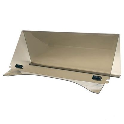 """Picture of Club Car Precedent 1/4"""" Impact-Modified Acrylic Folding Windshield - Tinted"""