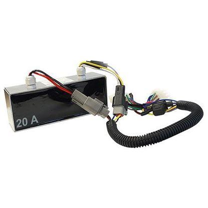 Picture of Voltage Reducer, Isolated, 36V-48V to 12V, 20 Amp, Club Car Precedent 08.5+