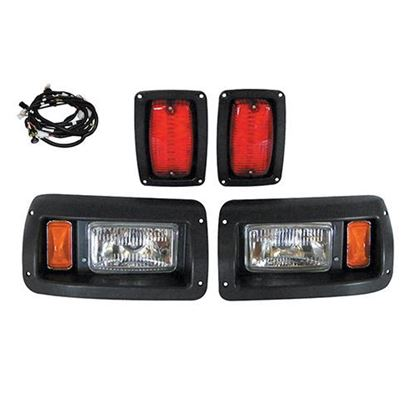 Picture of Club Car DS 1993-Present Halogen Adjustable Light Kit with Plug & Play Harness