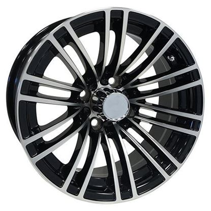 Picture of Wheel, RHOX AC605 Machined with Black 14x6