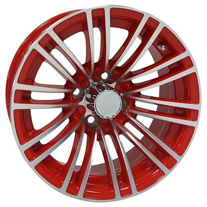 Picture of Wheel, RHOX AC605 Machined with Red 14x6