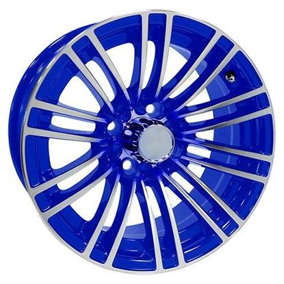 Picture of Wheel, RHOX AC605 Machined with Blue 14x6