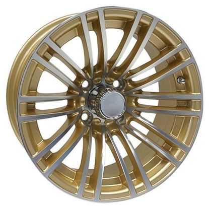 Picture of Wheel, RHOX AC605 Machined with Gold 14x6