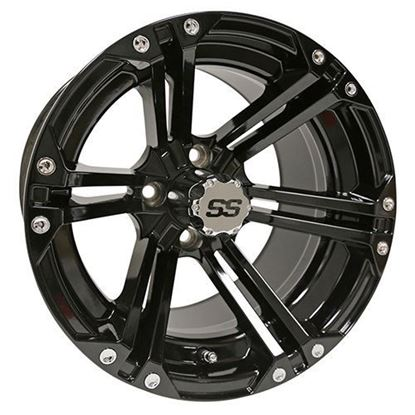 Picture of Wheel, RHOX RX351 Gloss Black 14x7