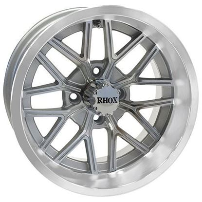 Picture of Wheel, RHOX RX281 Machined with Silver 14x7