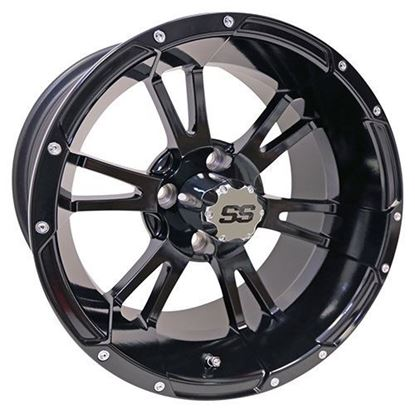 Picture of Wheel, RHOX RX341 Gloss Black 14x7