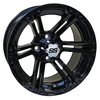 Picture of Wheel, RHOX RX354 Gloss Black 14x7
