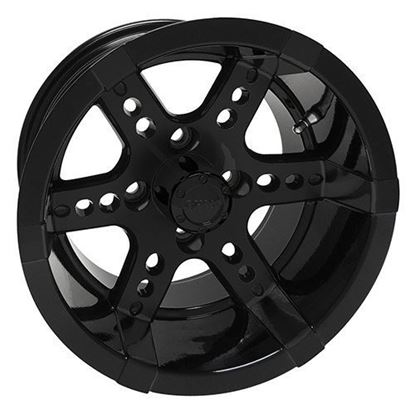Picture of Wheel, RHOX RX262 Black 14x7