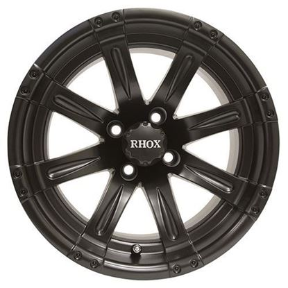 Picture of Wheel, RHOX Vegas Matte Black 14x7
