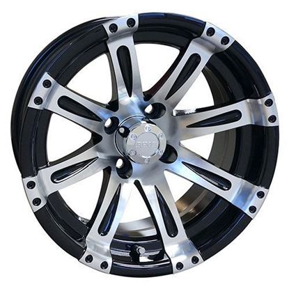 Picture of Wheel, RHOX Vegas Machined with Black 14x7