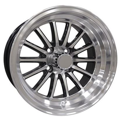 Picture of Wheel, RHOX Phoenix Machined with Black 14x6