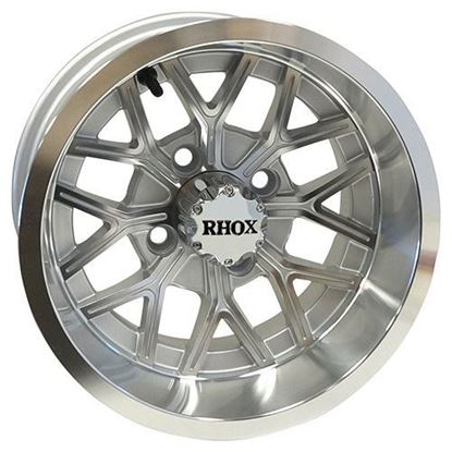 Picture of Wheel, RHOX RX284 Machined with Silver 12x6