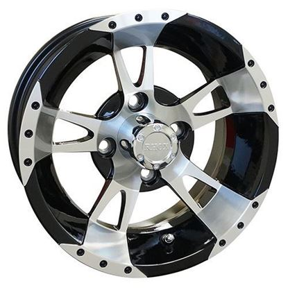 Picture of Wheel, RHOX RX210 Machined with Black 12x7
