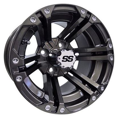 Picture of Wheel, RHOX RX335 Gun Metal Gray 12x7