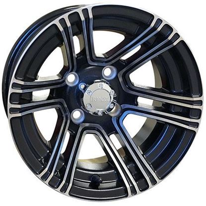 Picture of Wheel, RHOX RX360 Machined with Black 12x7