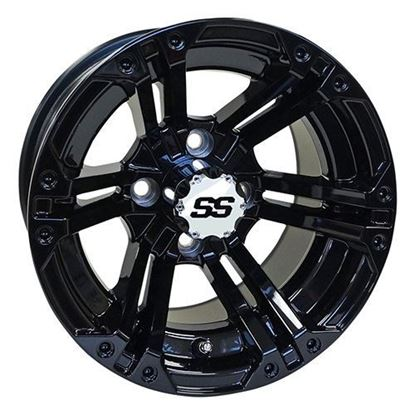 Picture of Wheel, RHOX RX334 Gloss Black 12x7