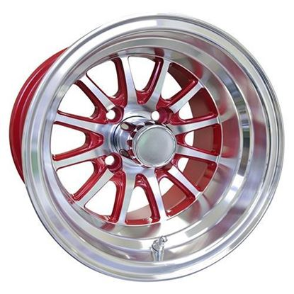 Picture of Wheel, RHOX Phoenix Machined with Red 12x7