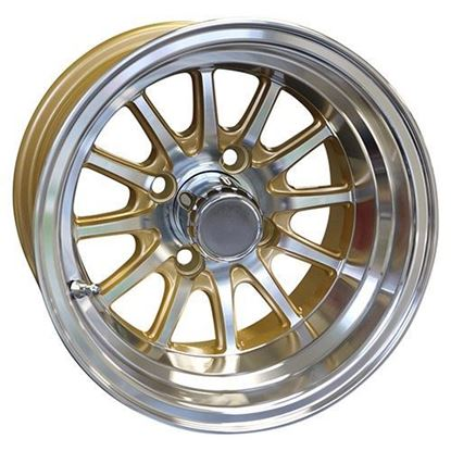 Picture of Wheel, RHOX Phoenix Machined with Gold 12x7