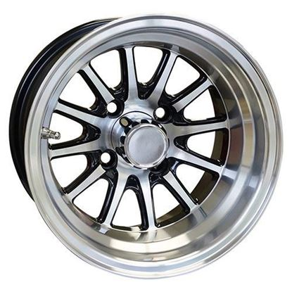 Picture of Wheel, RHOX Phoenix Machined with Black 12x7