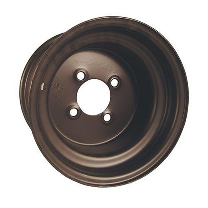 Picture of Wheel, Offset 10x7 Black Steel