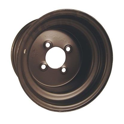 Picture of Wheel, Offset 10x8 Black Steel