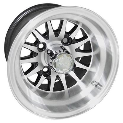 Picture of Wheel, RHOX Phoenix Machined with Black 10x7