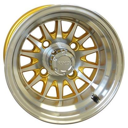 Picture of Wheel, RHOX Phoenix Machined with Gold 10x7