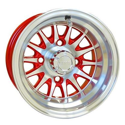 Picture of Wheel, RHOX Phoenix Machined with Red 10x7